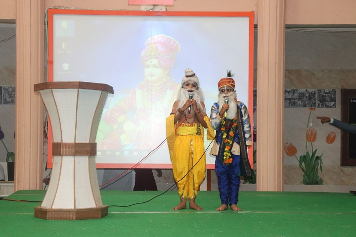 Shree Swaminarayan Gurukul International School-Drama