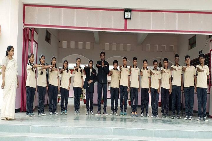 Shreemant Shivajiraje English Medium School-Assembly