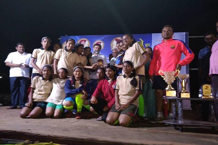 Shreemant Shivajiraje English Medium School-Foot Ball Team Winner