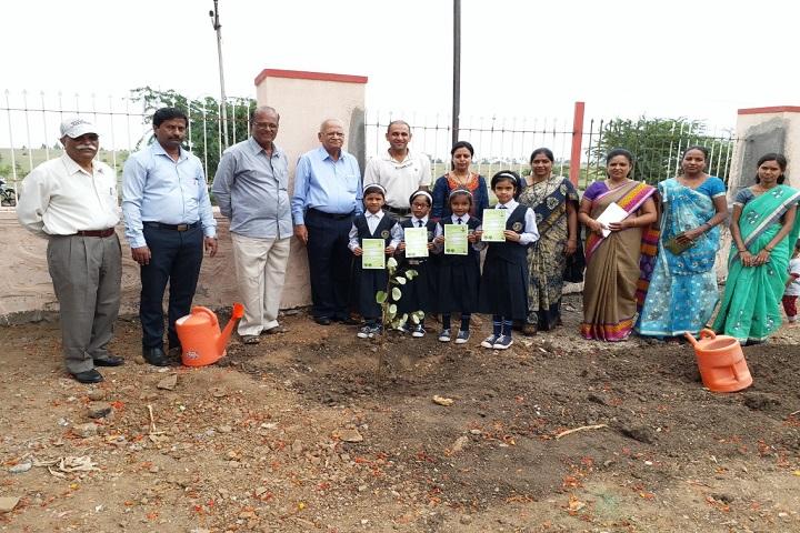 Shreemant Shivajiraje English Medium School-Plantations