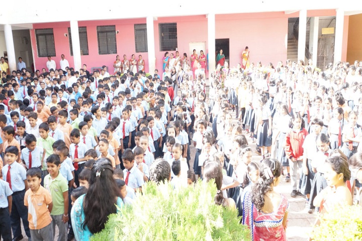 Shri Bankatlal Lahoti English School-Assembly