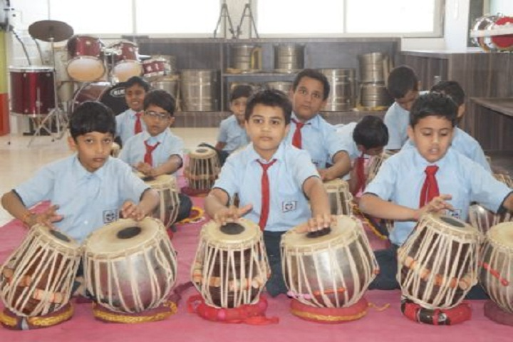 Shri Bankatlal Lahoti English School-Music room