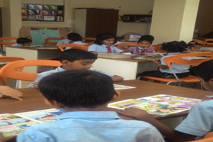 Shri Bankatlal Lahoti English School-Primary Study Room