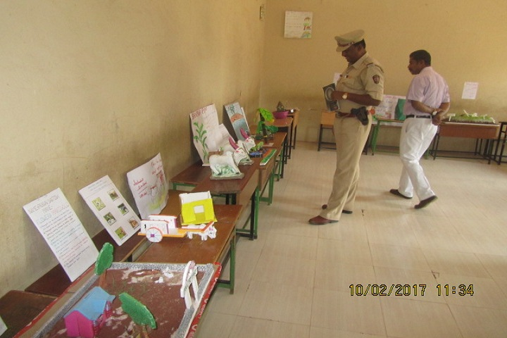 Siddharth Public School Jath-art exhibition