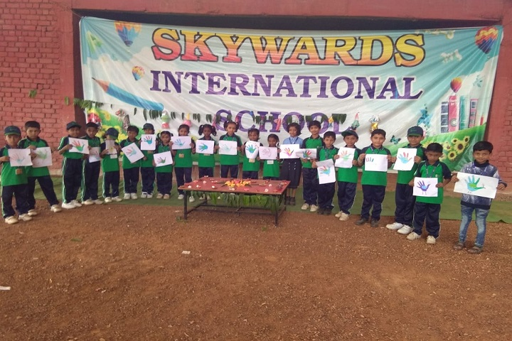 Skywards International School-Green Day Celebrations
