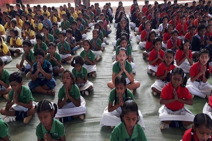 Skywards International School-Yoga