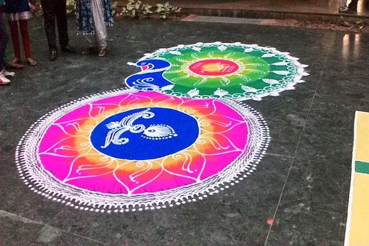 Daya Prakash Saraswati Vidya Mandir-Rangoli