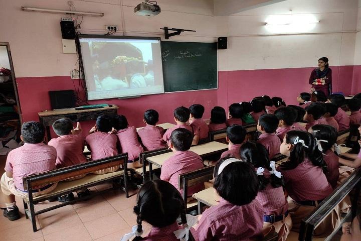 St XavierS High School-Classroom smart