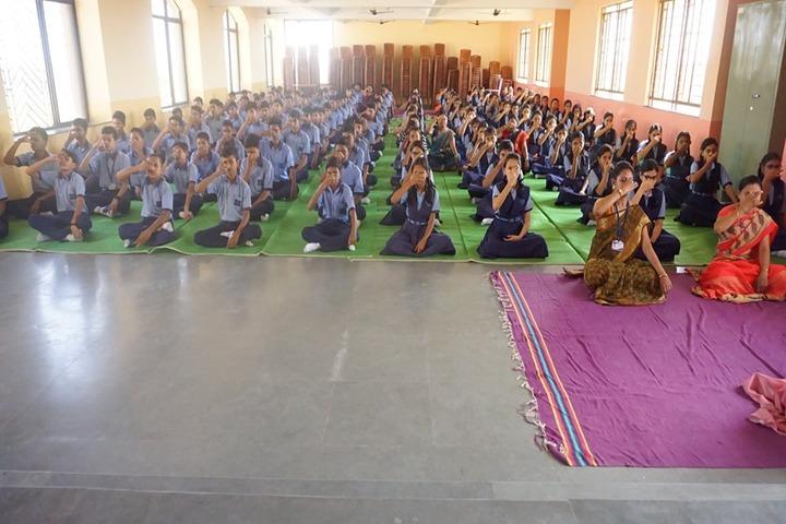 St Josephs Convent Senior Secondery School-Yoga