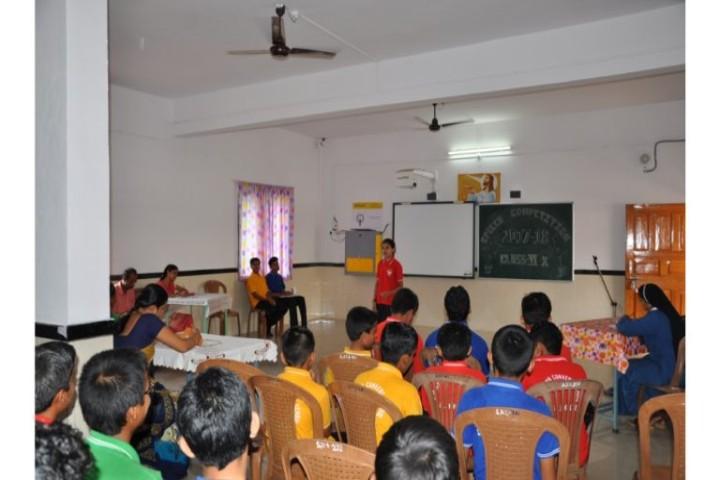 St.Joseph Convent School classroom