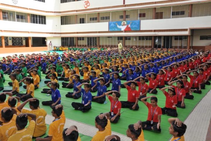 St.Joseph Convent School yoga