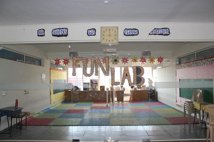 Stepping Stones High School-Fun Lab