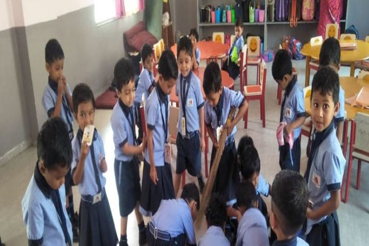 Sushganga Public School-Class Room Activity