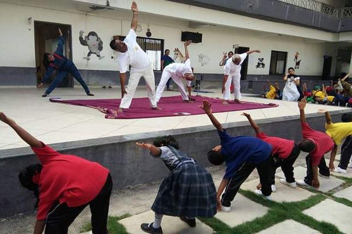 Sushganga Public School-Yoga