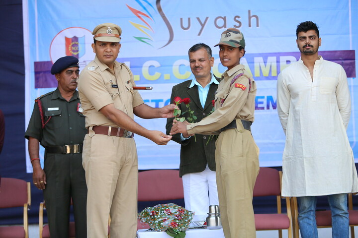 Suyash Central School-Felicitation