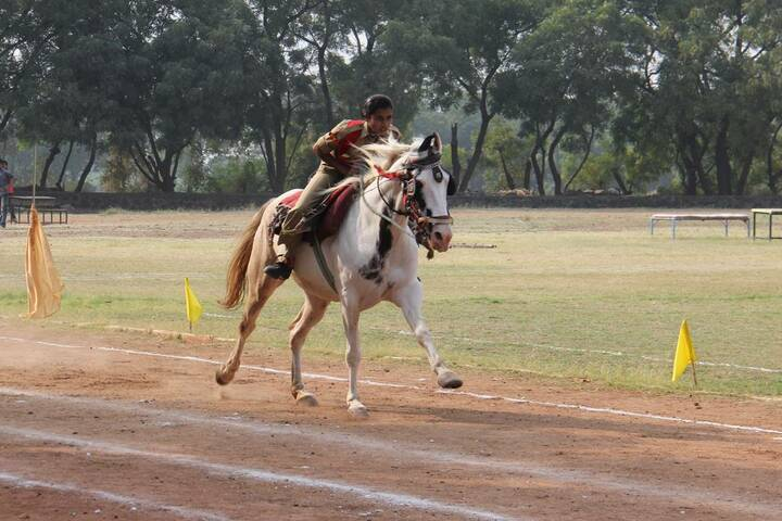 Suyash Central School-Horse Riding