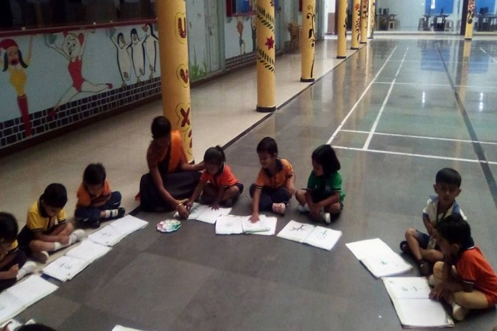 Swami Vivekanand Integration English School-Drawing Class