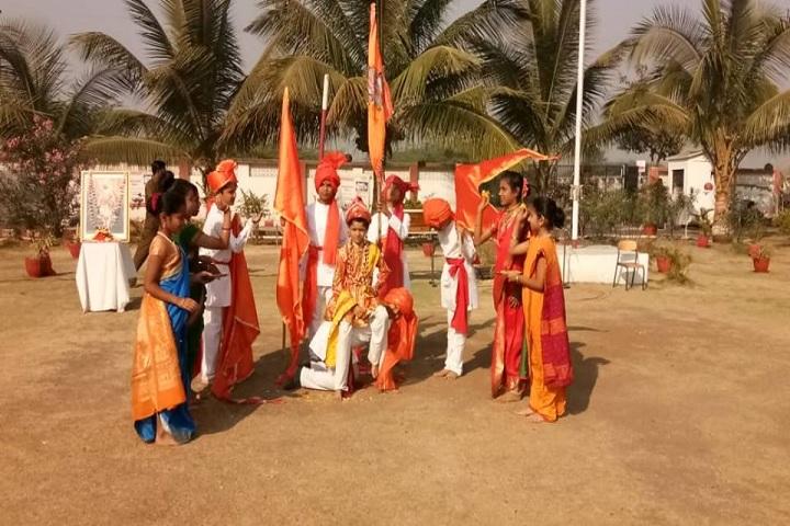 Takshila School-Assembly on Shiv Jayanti