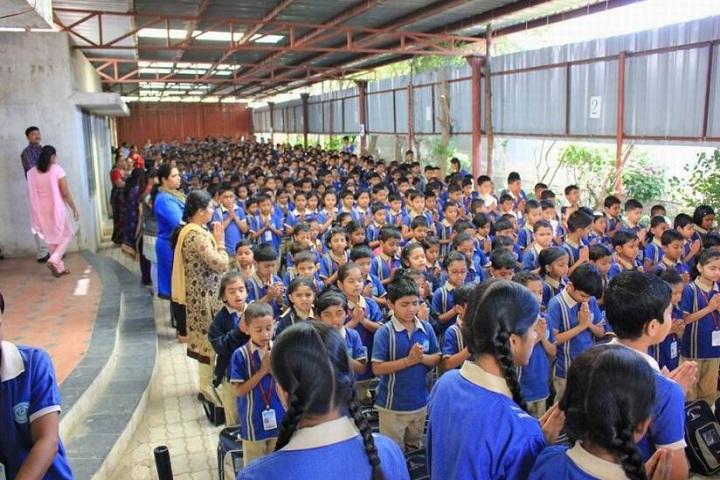 The Dwarka School-Assembly
