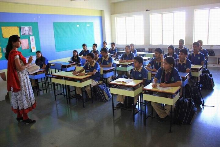 The Dwarka School-Classroom View