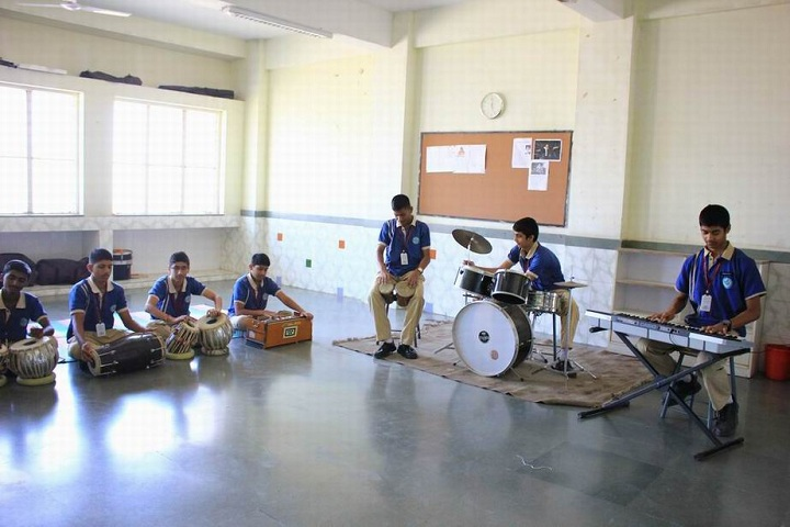 The Dwarka School-Music Class