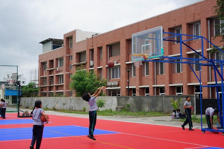 The Kalyani School-Basketball Court