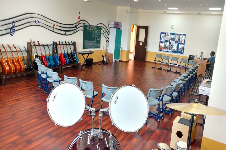 The Kalyani School-Music Room
