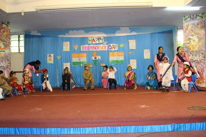 The Swaminarayan School-Independence day Events