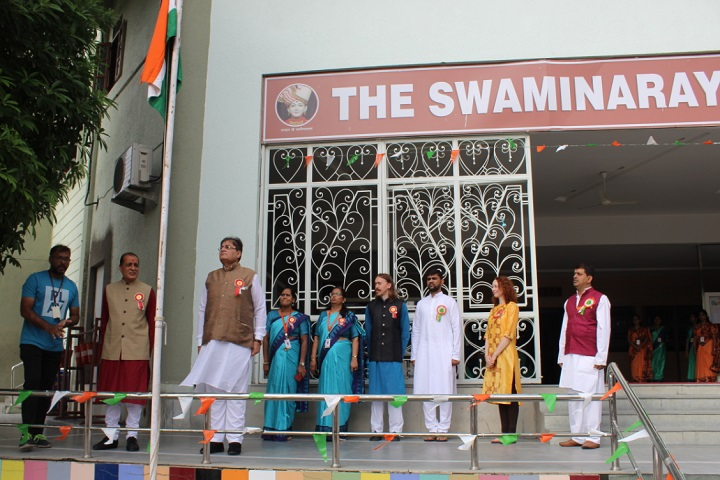 The Swaminarayan School-Independence day celebrations