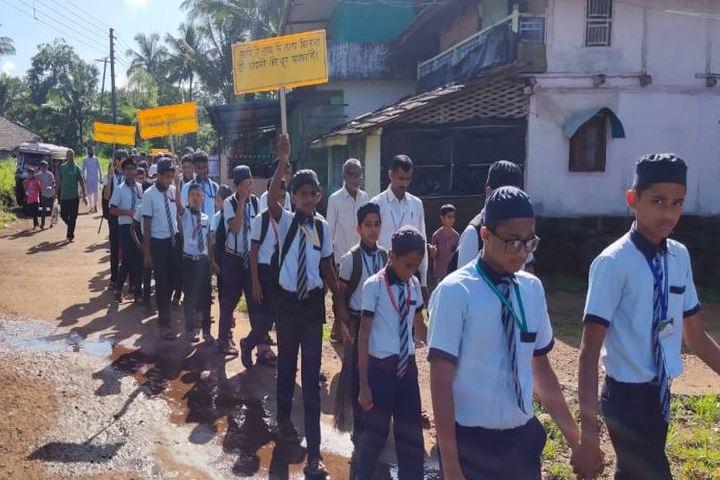 Umme Khadija English Medium School-Rally