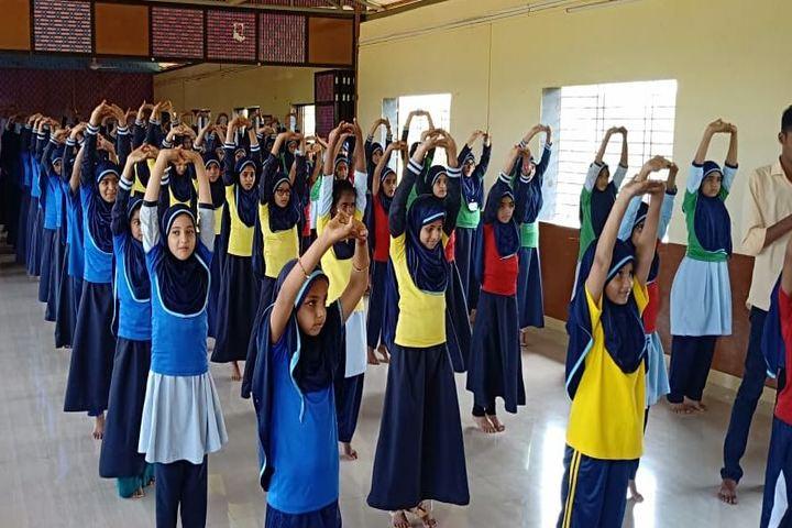 Umme Khadija English Medium School-Yoga