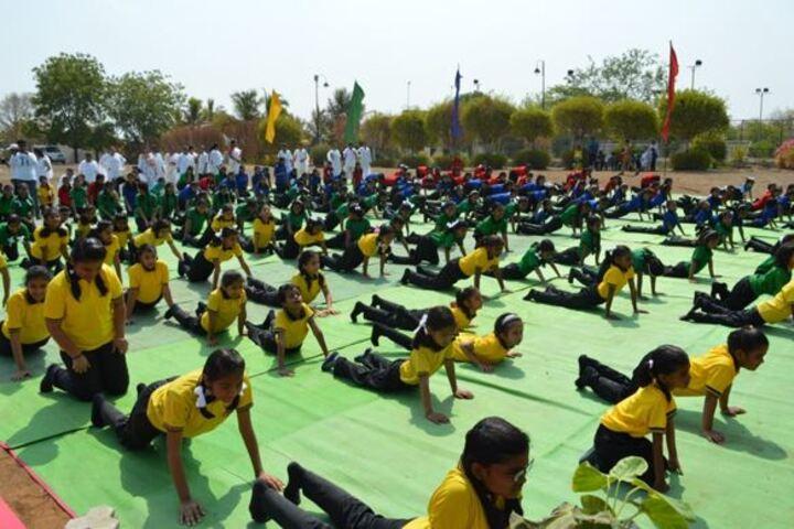 Vidya Niketan School-Yoga Day