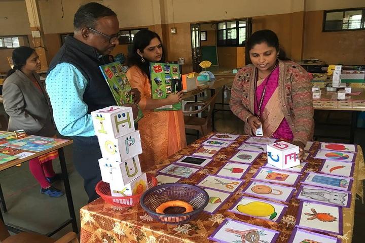 Vidya Prabodhini Prashala (Eng)-Inter School Teaching Aid Camp