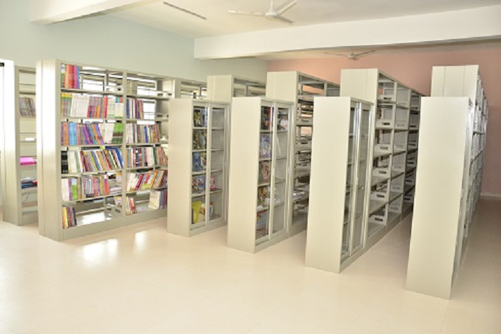 Vidya Pratishthans Dr Cyrus Poonawalla School-Library