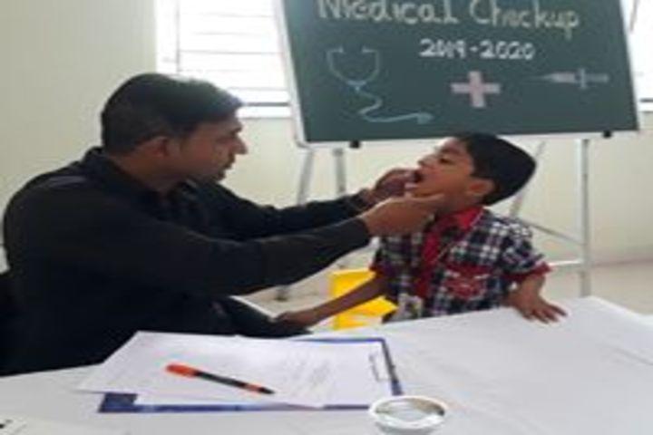 Vidya Pratishthans Dr Cyrus Poonawalla School-Medical Care