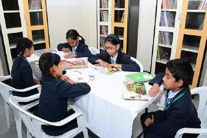 Vidyavalley International School-Library