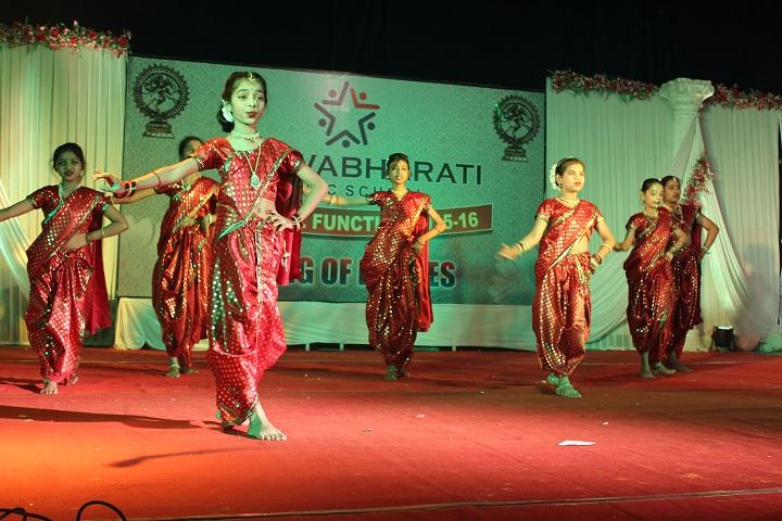 Vishwabharati Public School-Tradational dance
