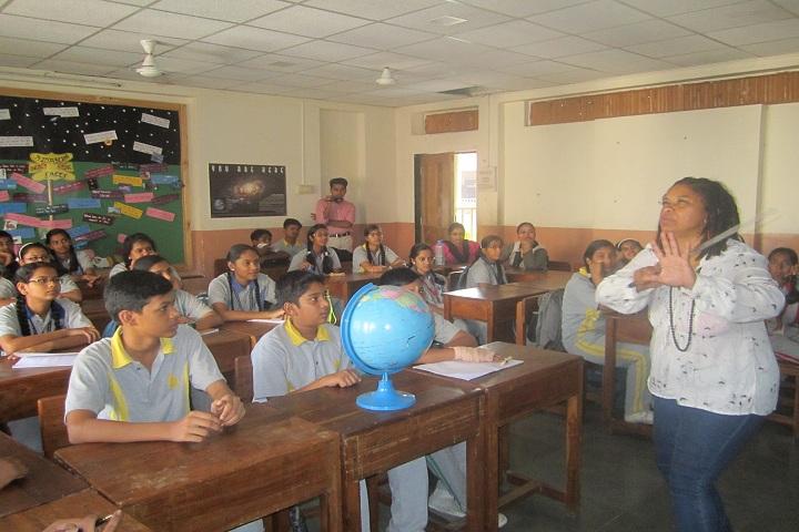 Vishwajyot High School-Classroom View