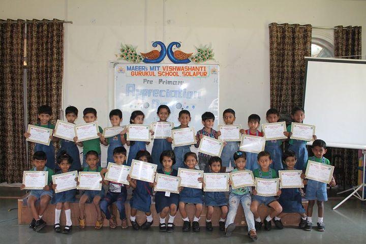 Vishwashanti Gurukul School-Appreciation Certificate