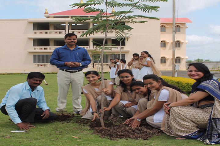 Vishwashanti Gurukul School-Plantation