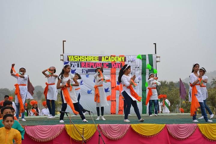 Yashshree Academy-Republic Day Celebrations