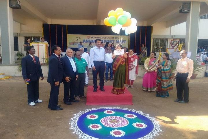 Yavatmal Public School-Annual Sports Meet