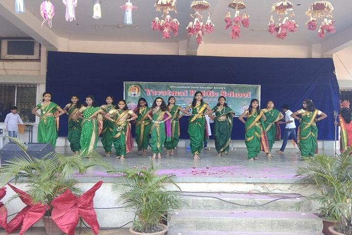 Yavatmal Public School-Dance