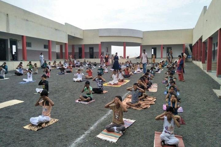 Yugdharma Public School-Yoga Day