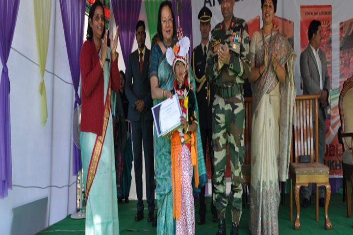 Assam Riffles Public School-Prize