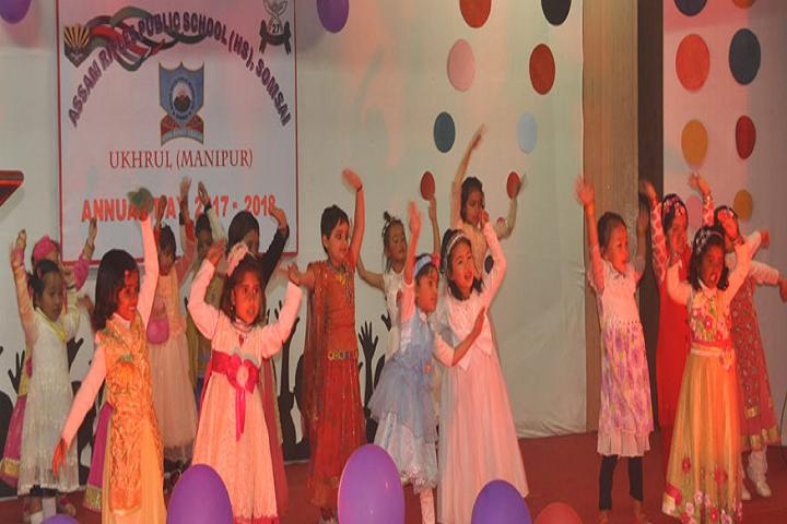 Assam Rifles High School-Dance