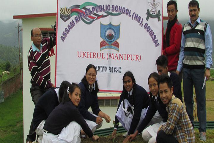Assam Rifles High School-Events