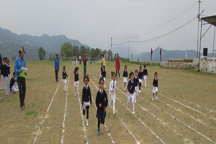 Assam Rifles High School-Sports