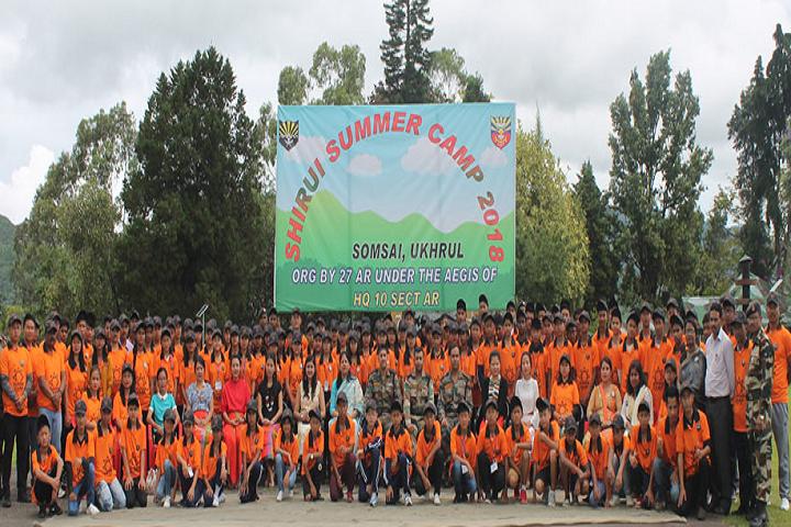 Assam Rifles High School-Summer Camp