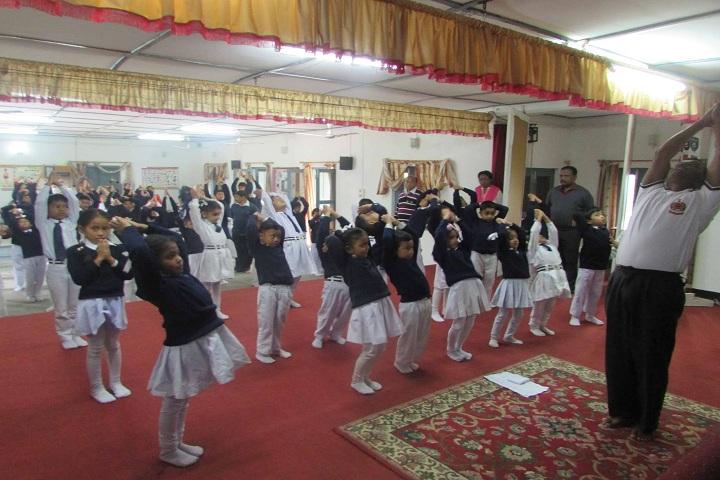 Assam Rifles High School-Yoga